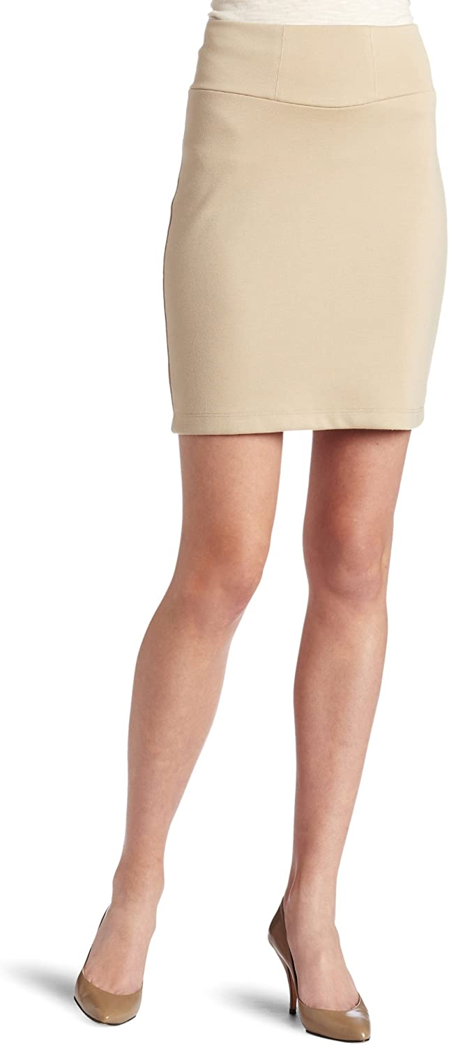 Only Hearts Women's Double Knit Mid Thigh Pencil Skirt