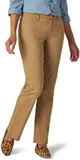Lee Uniforms Women's Relaxed Fit Straight Leg Jean