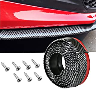 Tira protectora de parachoques de coche Funnyrunstore Tira 1 par Parche anticolisi/ón universal Tira protectora de parachoques de goma Adhesivo antiara/ñazos