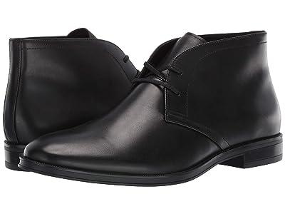 Calvin Klein Wolfe (Black Crust Leather) Men