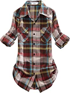Best brown flannel womens Reviews