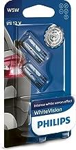 Philips 12961NBVB2 WhiteVision Efecto xenón W5W Lámpara automática, doble ampolla