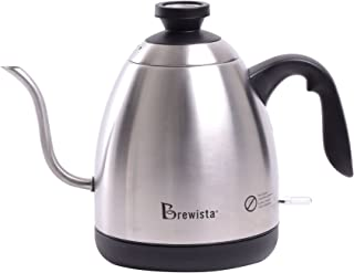 Brewista Smart Pour Electric Switch Kettle (BKS12S02-NA),Stainless Steel
