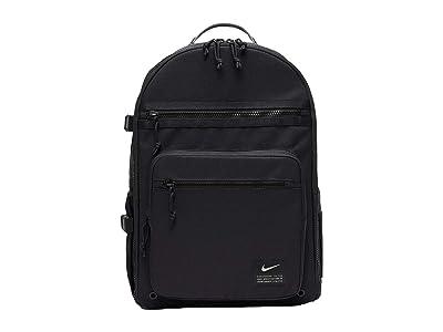 Nike Utility Power Backpack (Black/Black/Enigma Stone) Backpack Bags