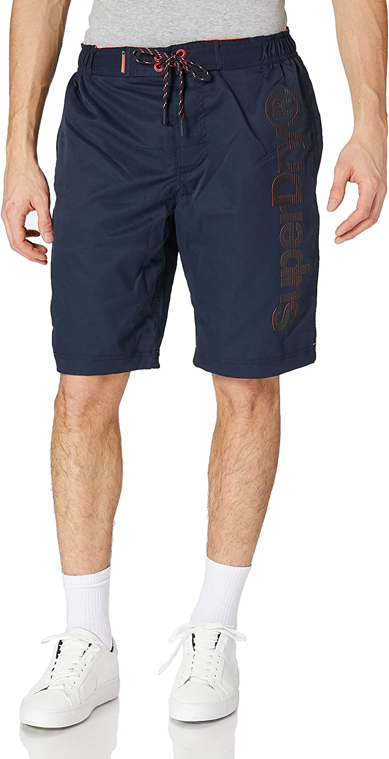 OFFicial shop SUPERDRY Classic 2021 autumn and winter new Shorts Board