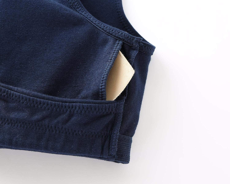 ZUMIY Reggiseno Allattamento Reggiseno Senza Ferretto e Senza Cuciture Cotton Reggiseno per Gravidanza e Allattamento Comodo Reggiseno Senza Fili per Il Sonno Notturno