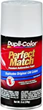 Dupli-Color BGM0387 Pure White General Motors Exact-Match Automotive Paint - 8 oz. Aerosol