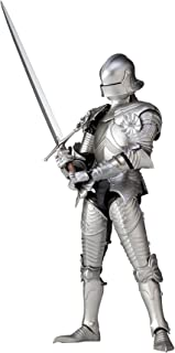 KT Project KT-021 Takeya Style Freestyle Ornament 15th Century Gothic Formula Field Armor (Silver) Action Figure