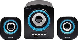 Geepas Computer Speakers 2.1, Black, GMS8803
