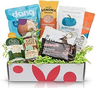 KETO Diet Snacks Starter Box: Assortment of Ketogenic Friendly Snacks - 4G of Net Carbs or Less - Great Keto Gift Baskets For Christmas