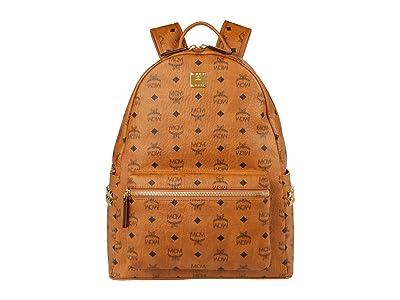 MCM Stark Backpack 40 (Cognac 2) Backpack Bags
