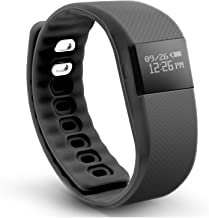 North Activity tracker Bluetooth tracks Steps, Calories, Sleep, and More - Black