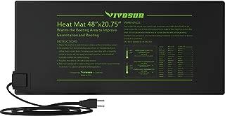 VIVOSUN Durable Waterproof Seedling Heat Mat Warm Hydroponic Heating Pad 48