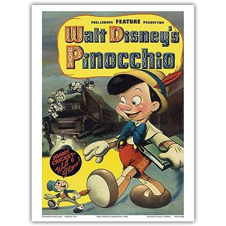 A4 A3 A2 A1 A0| Pinocchio Disney Classic Movie Poster Print T1239