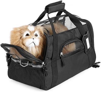 La Bolsa de Nylon 600D Impermeable Perro del Gato del Gatito del Perrito del Animal doméstico del Recorrido al Aire Libre Llevar Bolsas cómoda Cama Suave para pequeñas Mascotas: Amazon.es: Hogar