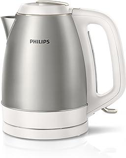 Philips Daily Collection HD9349//10 Bouilloire 2000 W 1 L Titane Bouilloire 2000 W AC 220-240 50//60 Hz 970 g 250 mm