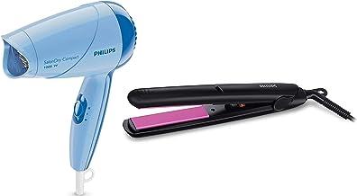 Philips Hair Dryer (HP8100/60) & Straightener (HP8302) Combo