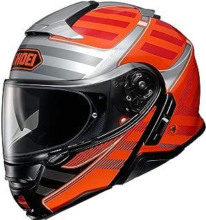 Shoei Neotec II Helmet - Splicer (X-Large) (Orange)