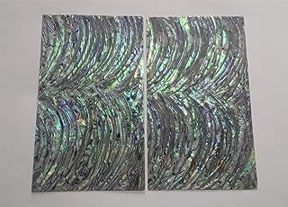 PAUA RIM (Sword) abalone shell inlay veneer 9.5 x 5.5 x 0.006 inch