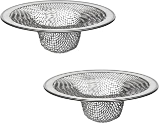 Danco Sink Kitchen 88822P 4-1/2-Inch Tub Mesh Strainer, Stainless Steel, 2 Pack, 4-1/2-Inch-2 Pack, 2 Count