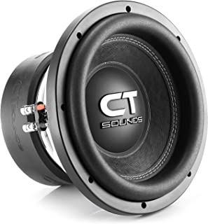 CT Sounds TROPO-XL-10-D4 2000 Watts Max 10 Inch Car Subwoofer Dual 4 Ohm