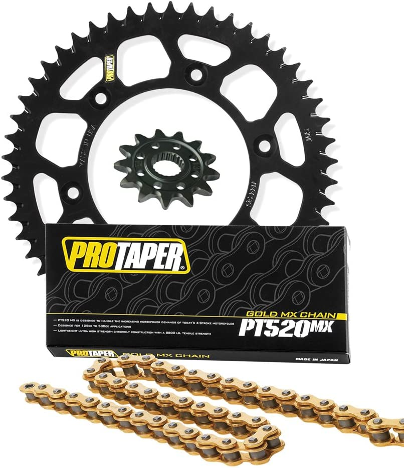 Pro Taper lowest price Front Rear Opening large release sale Sprockets PT520MX Chain fits Kit - 1999