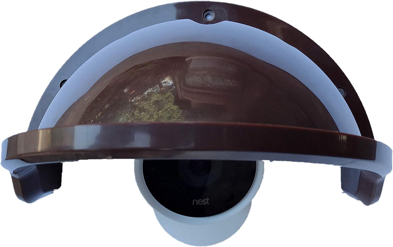 Ade Advanced Optics Camera Sunshade for Nest/Ring/Arlo/Dome/Bullet Outdoor Camera - Coffee