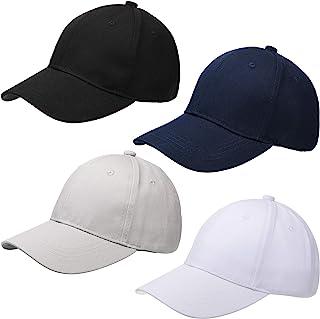 Sponsored Ad - Geyoga Kids Baseball Caps Cotton Baseball Hats Adjustable Dad Hat Plain Baseball Cap Unisex Trucker Hats