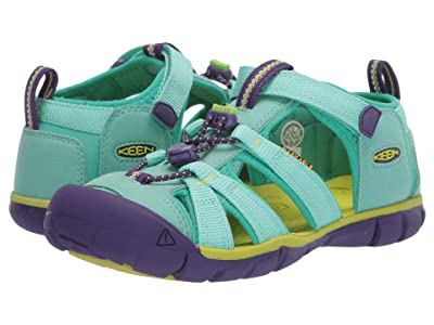 Keen Kids Seacamp II CNX (Little Kid/Big Kid) (Cockatoo/Royal Purple) Girls Shoes