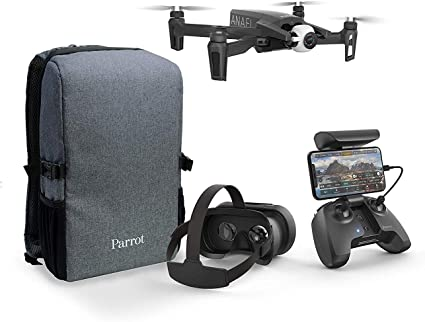 Parrot Anafi - FPV Drone Set - Lightweight and Foldable Quadcopter