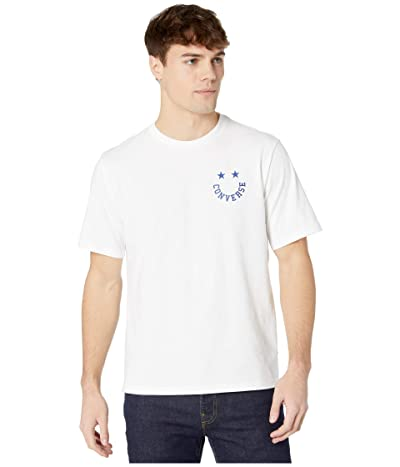 Converse Happy Face Graphic Tee (White) Men
