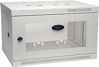 "Tripp Lite 6U Wall Mount Rack Enclosure Server Cabinet, 16.5"" Deep, Switch-Depth, White (SRW6UW)"