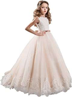 ivory and gold flower girl dresses