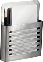 iDesign Forma Magnetic Modern Pen and Pencil Holder, Metal Writing Utensil Storage Organizer for Kitchen, Locker, Home, or Office, 2.1