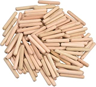 Houten plug 100 stks pluggen hout gecanneleerde deuvelspelden keperhout deuvels hout pluggen voor DIY ambachtelijke projec...