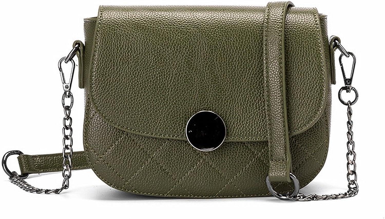 YTTY Lingjie Damen Schultertasche Leder Kette Messenger Bag B074JB51M6