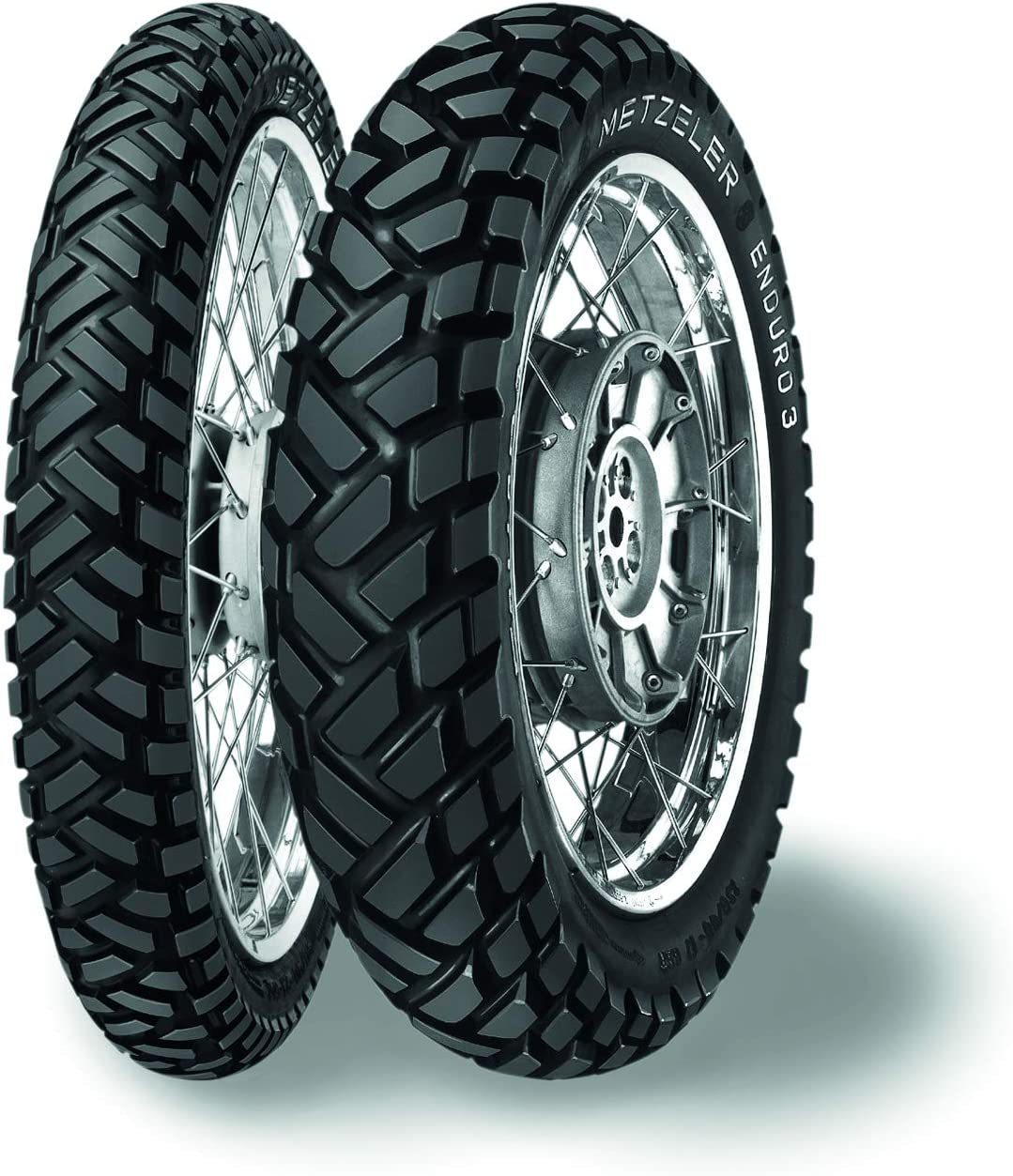 Metzeler Cheap Spring new work one after another SALE Start Enduro 3 Sahara Rear Motorcycle 140 Tire Typ 80-18 Tube