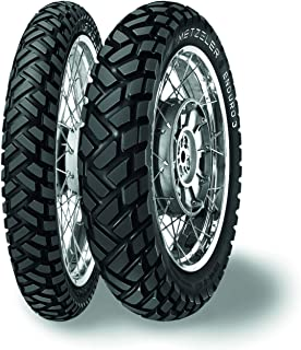 Metzeler Enduro 3 Sahara Rear Motorcycle Tire 140/80-18 Tube Type (70S) - Fits: BMW G450X 2008-2011