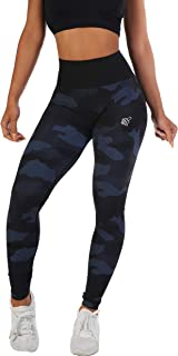 Jed North Women's Seamless Athletic Gym Fitness Workout Leggings