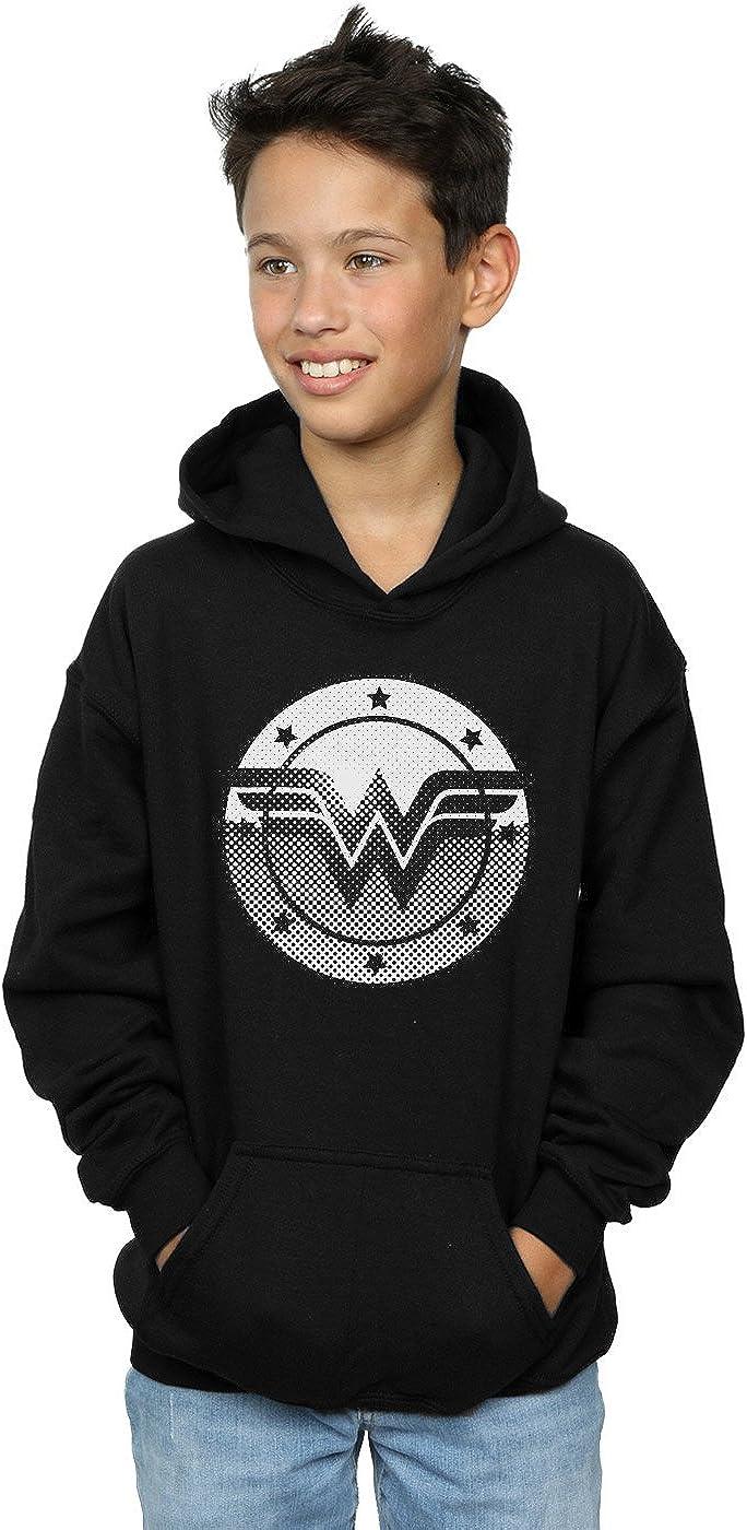 DC Comics Boys Wonder Woman Spot Logo Hoodie