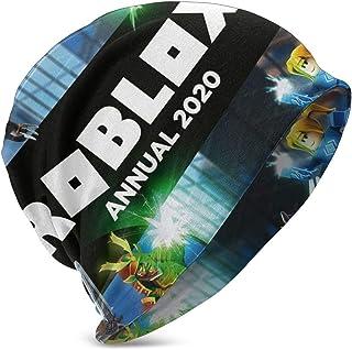 Ro-b-lox Annual 2020, Gorro Informal para niños, Gorro de esquí de Punto cálido de Invierno, Gorro de Calavera
