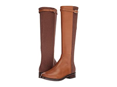 Cole Haan Lexi Grand Stretch Strap Boot (British Tan Leather) Women