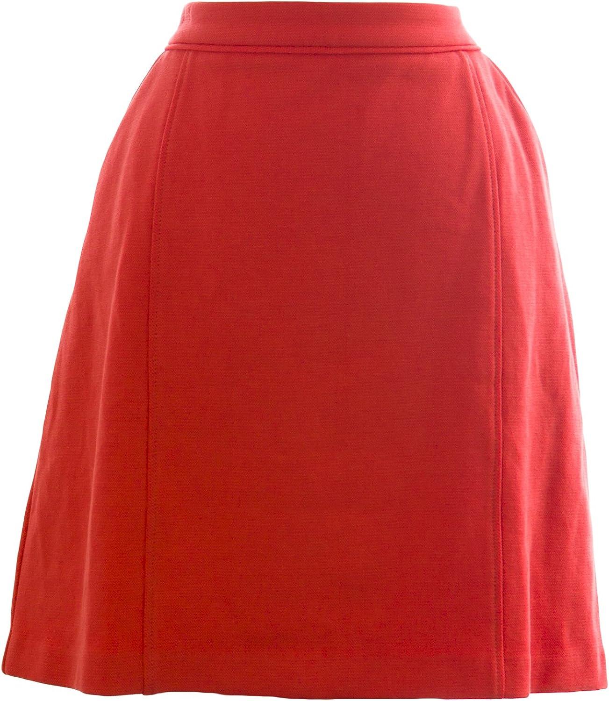 BODEN Women's Mini Sixties Skirt US Sz 10R Portland orange