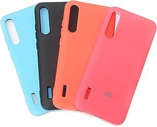 Capa Case de Silicone Aveludada por dentro para Xiaomi Mi A3 - Cor Preta