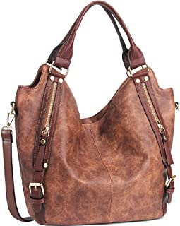 Women Handbags Hobo Shoulder Bags Tote PU Leather...