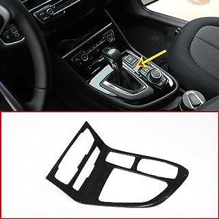 Karbonfaser Stil für 218i Gran Tourer F45 F46 2015–2017 ABS Chrom Mittelkonsole Gangschaltung Rahmen Verkleidung Autozubehör LHD
