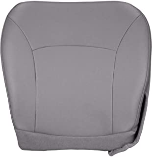 new concept da819 b58d8 The Seat Shop Driver Bottom Replacement Vinyl Seat Cover - Medium Flint  Gray (Compatible with