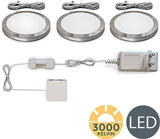 LED bajo luz de gabinete I Iluminación para Vitrinas I Pack
