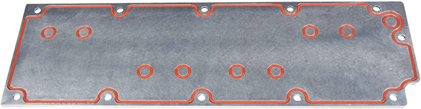 ICT Billet LS Gen 4 O-ringed Valley Pan Cover Plate Low Profile Carburetor with Oring Seal Engine Lifter Area Cover DOD Displacement on Demand Rem LSX LS3 551605