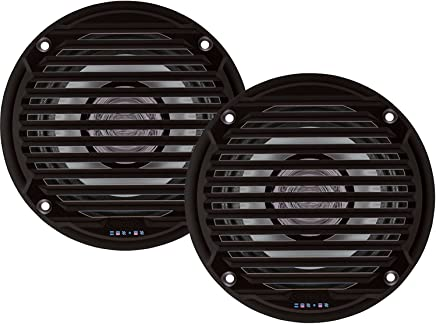 "$27 Get Jensen MS5006BR Pair of MS5006B 5.25"" Black Dual Cone Waterproof Speaker, 30 Watts Max Power Handling, Sensitivity @ 1W/1 Meter 88dB, Frequency Response 65Hz-20kHz, Nominal Impedance 4 Ohms, 5-15/16"" Grille Diameter, 4-3/8"" Mounting Hole Diameter, 1-1/2"" Mounting Depth"